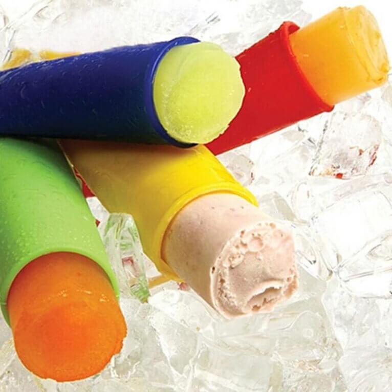 Mahlapulk/jäätise valmistamise silikoonvorm