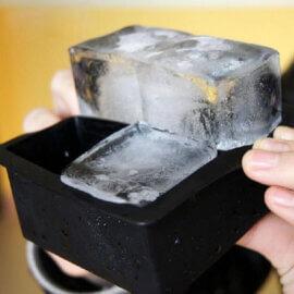 Jääkuubiku vorm, 4 suurt kuubikut
