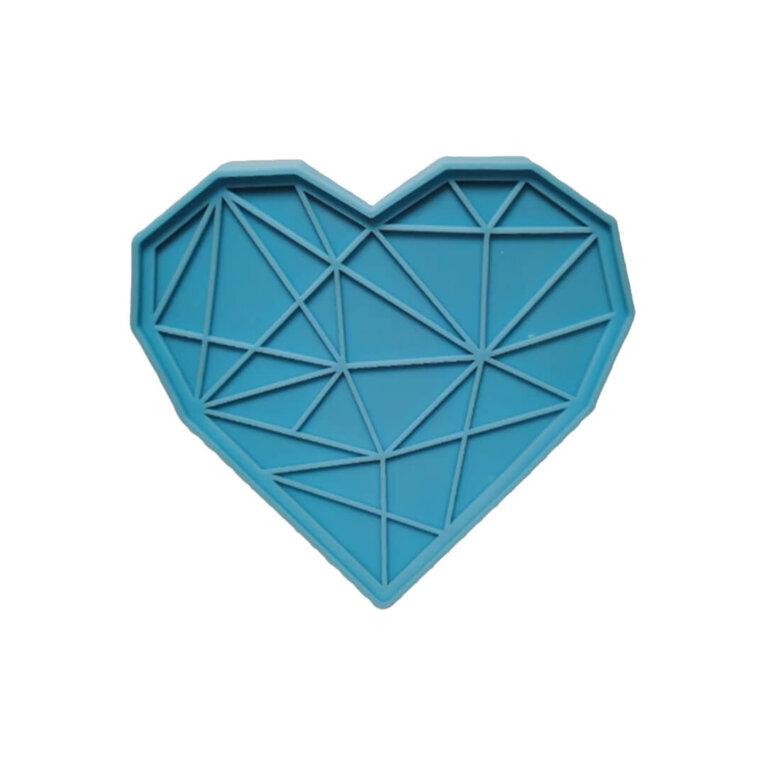 Silikoonvorm, teemantsüda