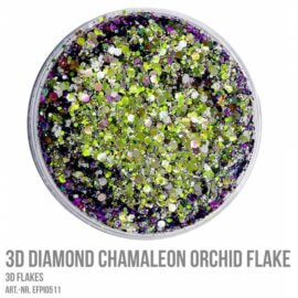 3D Helbed, CHAMALEON ORCHID