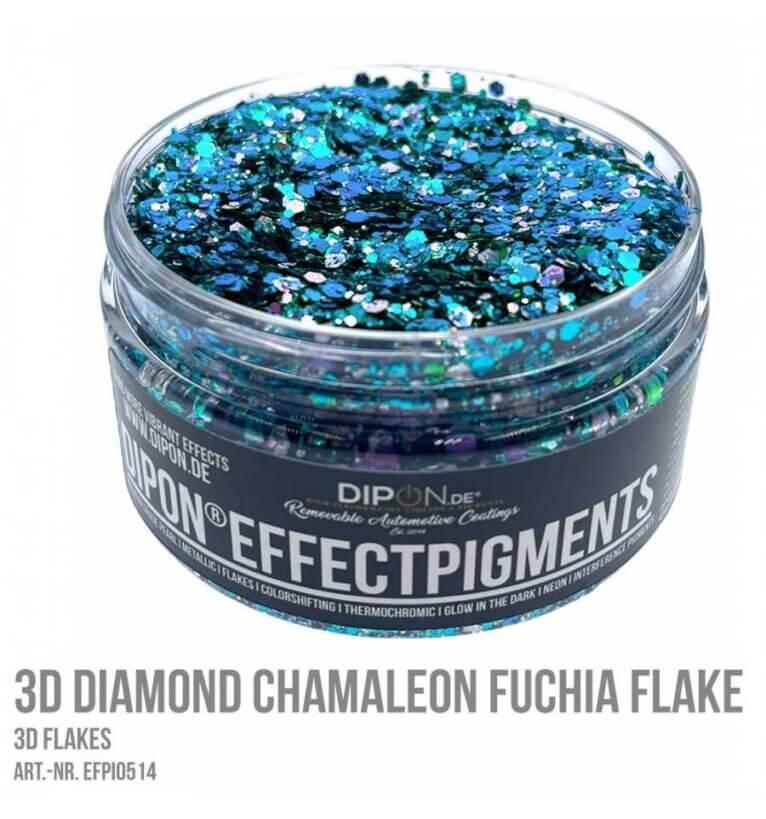 3D Helbed, CHAMALEON FUCHIA