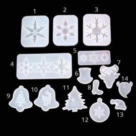 Jõuluteemalised silikoonvormid