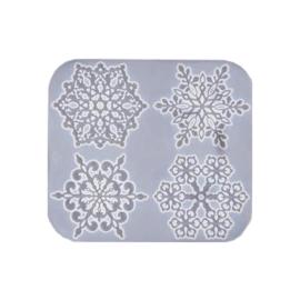 Silikoonvorm lumehelveste valmistamiseks
