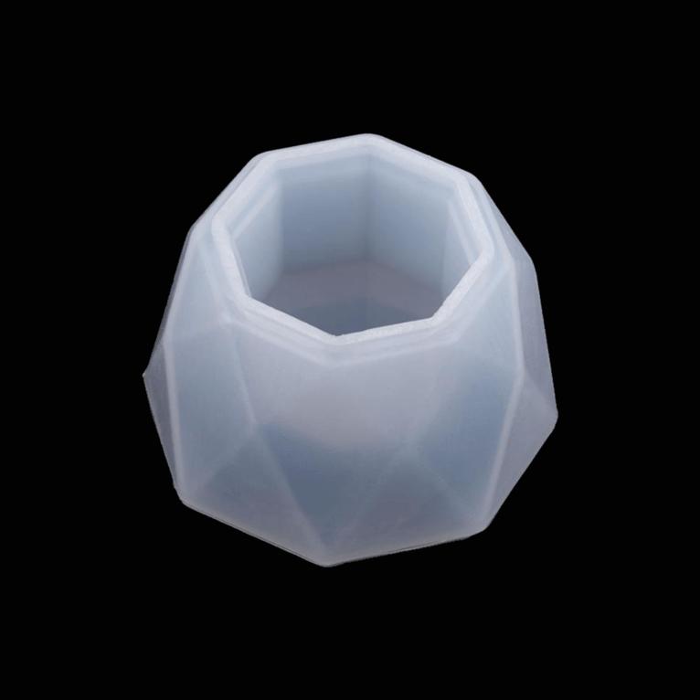 3D silikoonvorm väikese lillepoti/topsi valmistamiseks