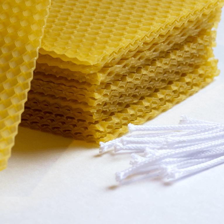 Mesilasvahast küünalde meisterdamise komplekt, väike