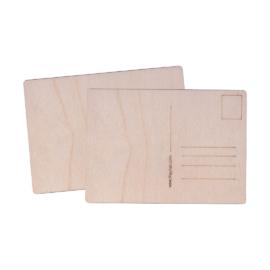 Postkaart puidust