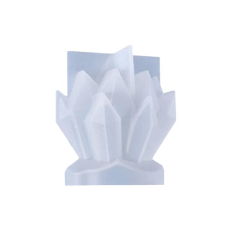 Silikoonvorm kristallid